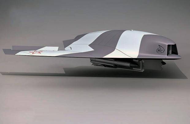 Компьютерная модель БПЛА «Скат». Источник: ruvsa.com