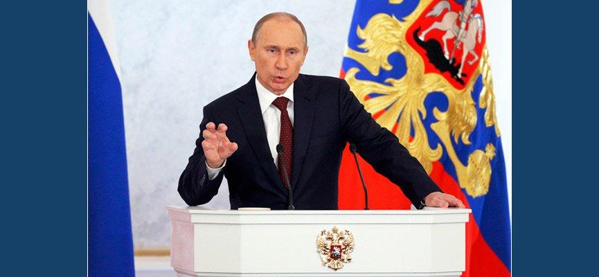 За Путиным тысячелетняя Россия и великая историческая судьба