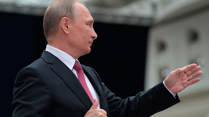 Путин: демонизация Сталина - один из способов атаки на РФ