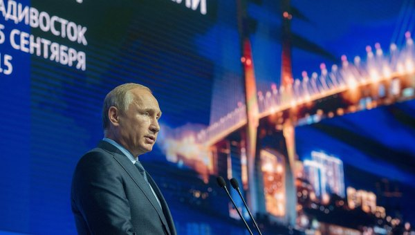 Владимир Путин о проблеме беженцев, ситуации в экономике и беспорядках в Киеве