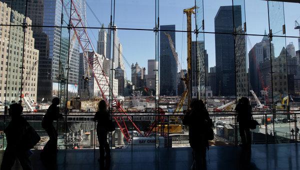 Здесь были башни-близнецы, разрушенные 11 сентября 2001 года