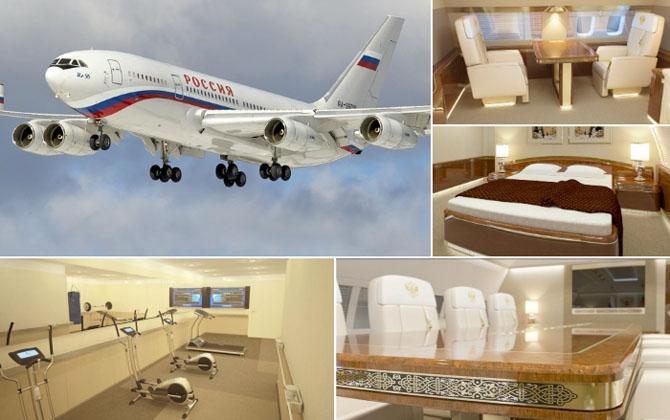 Новый самолет российского президента