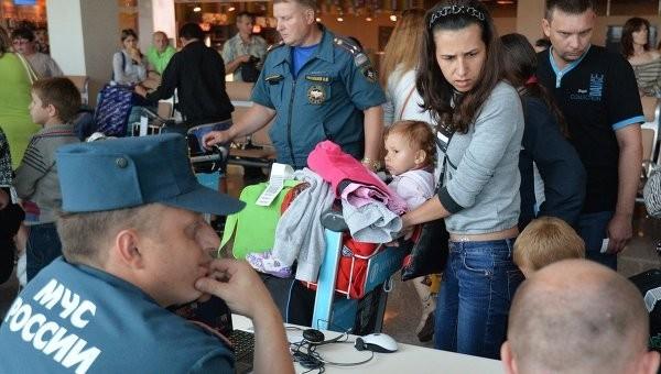 Украинские беженцы долетели до Иваново и обеспечены временным жильем