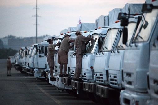 Россия направит второй гуманитарный конвой для юго-востока Украины