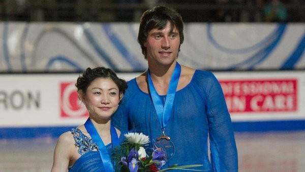 Россияне триумфально выступили на Skate America 2014