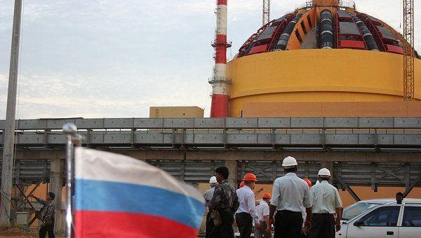 Россия и Индия договорились о строительстве 12 энергоблоков