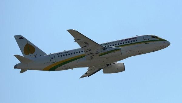 SSJ-100 бизнес-версии совершил первый международный полет