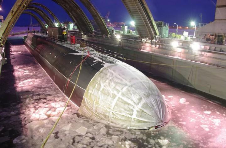 Сегодня в Северодвинске заложат атомный подводный крейсер проекта «Борей»