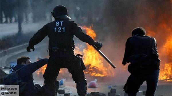 Франкфуртский Майдан — атака на пророссийскую политику Меркель