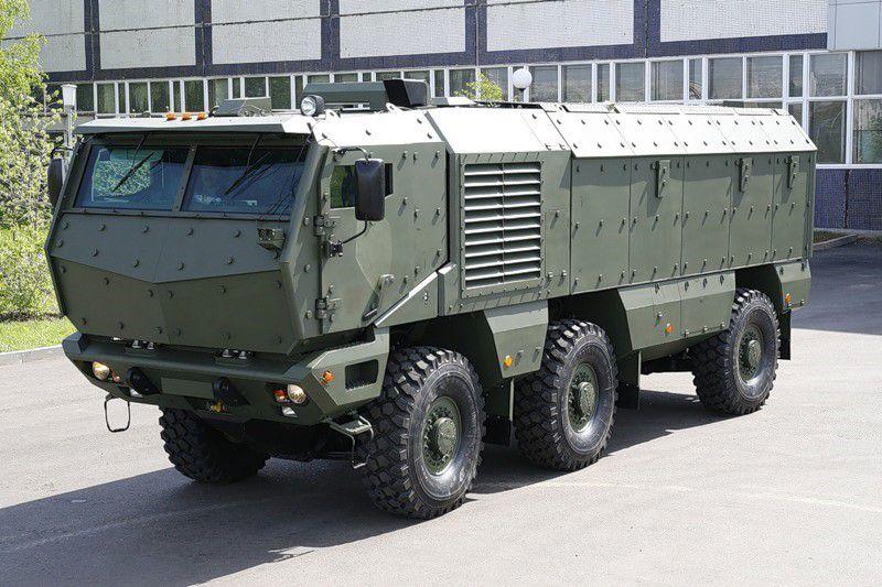 Спецназ ЮВО получил 30 бронемашин «Тайфун»