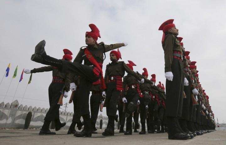 Парадный расчет ВС Индии примет участие в торжествах по случаю 70-летия Победы в Москве