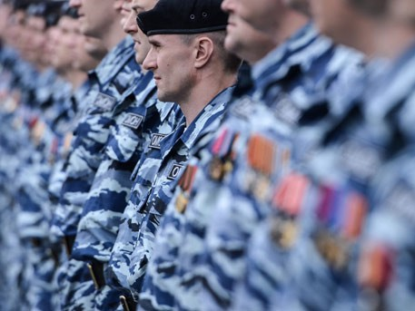 Бойцы харьковского «Беркута» попросили политическое убежище в Крыму