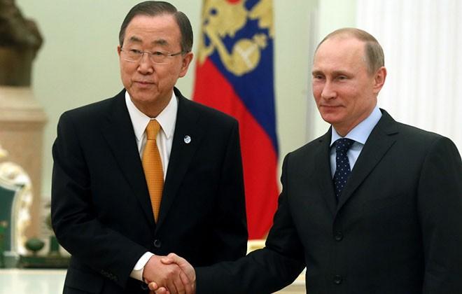 Пан Ги Мун: Путин заслужил доверие и любовь российского народа
