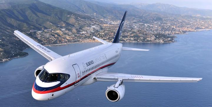 Superjet летит в Китай