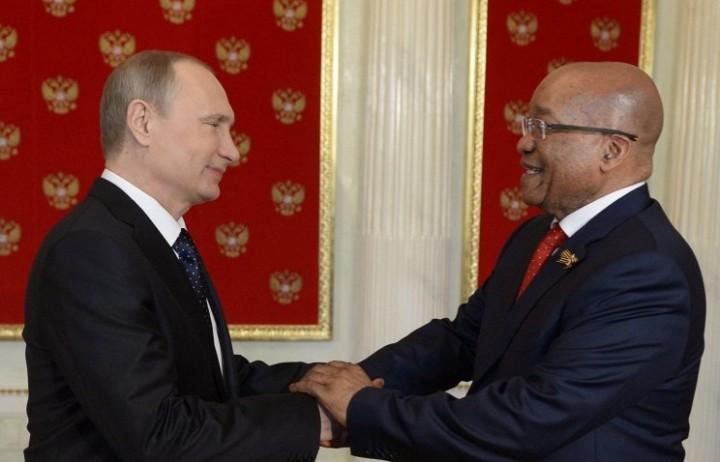 Дружба России и ЮАР встревожила западников