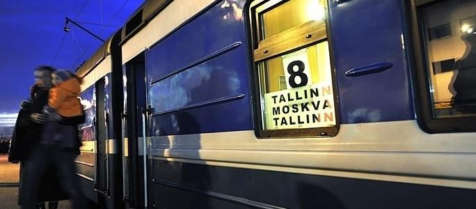 Эстония прекращает железнодорожное сообщение в Россию из-за спада турпотока