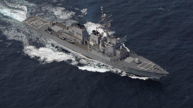 Черноморский флот возьмет на прицел ракетный эсминец НАТО