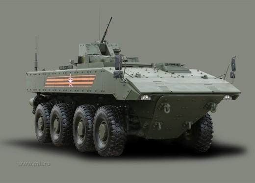 Платформа ВПК-7829 «Бумеранг» прослужит в Российской армии несколько десятилетий