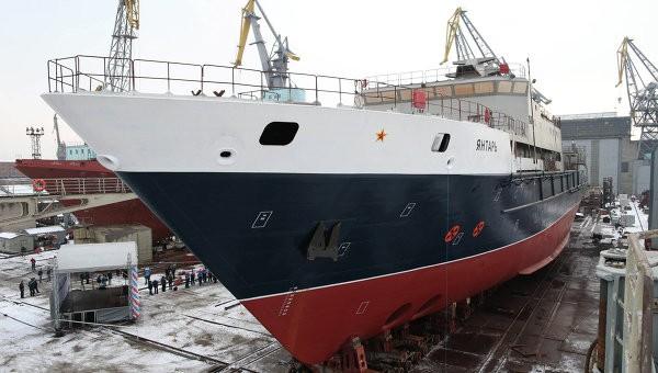 Минобороны получило новейшее океанографическое судно