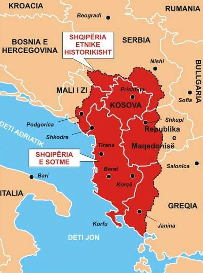 Албания выдвинула территориальные претензии к Греции