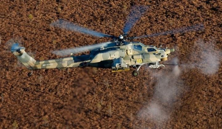 Учения с участием ударных вертолетов начались в Крыму