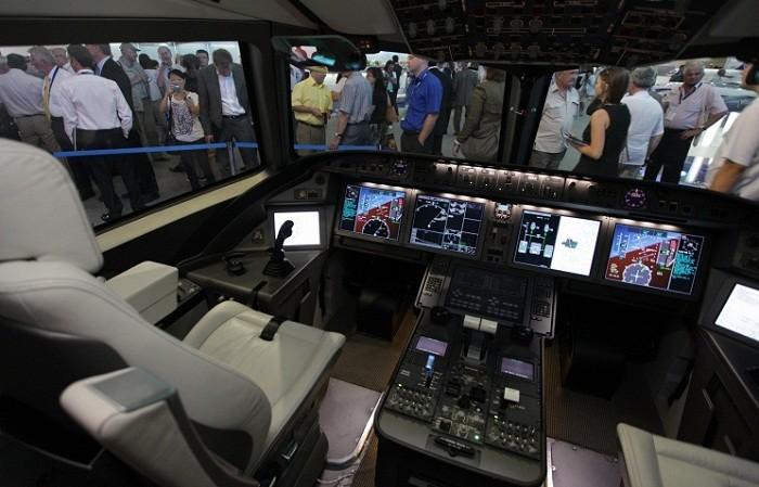 «Иркут» в Ле-Бурже впервые покажет новый вариант тренажёра для подготовки экипажей МС-21