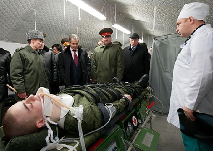 Наша военная медицина будет лучшей в мире
