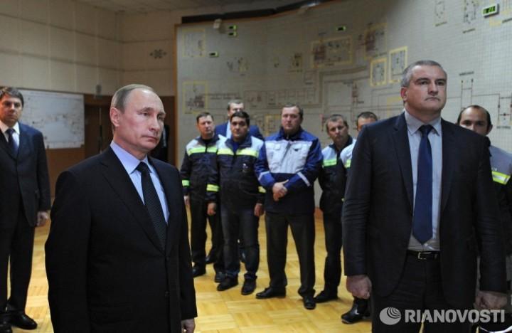 Аксенов: большая часть энергии по энергомосту пойдет на восточный Крым
