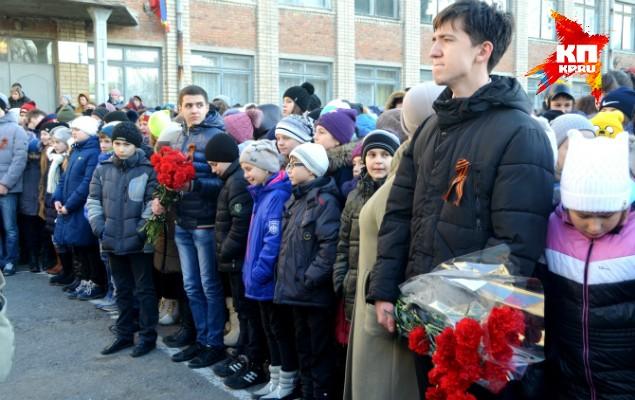 Вдове погибшего в Сирии морпеха Позынича подарили квартиру в Крыму