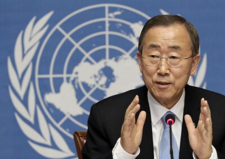 Генсек ООН Пан Ги Мун выступил против западной позиции по Асаду