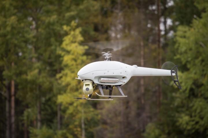 Беспилотный вертолет для перехвата дронов создан в России
