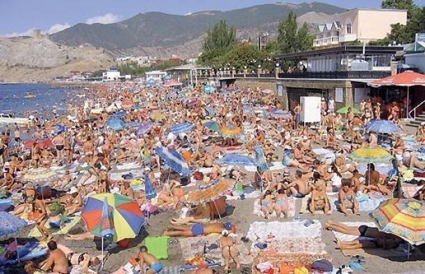 Спрос на путевки в Крым вырос на 200%
