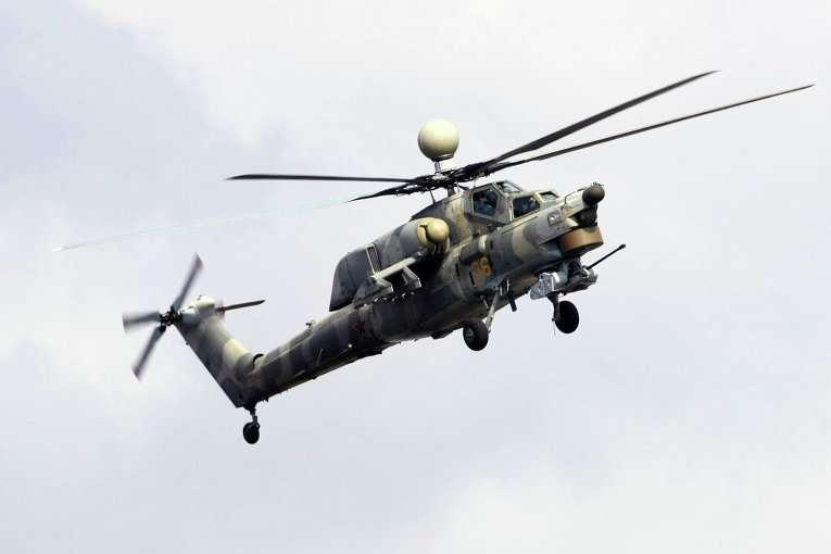 Украинские двигатели, которые ранее устанавливались на вертолёты Ми-28Н, замещены российскими ВК-2500