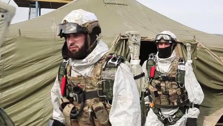 Чеченский спецназ пройдет спецподготовку на Северном Полюсе