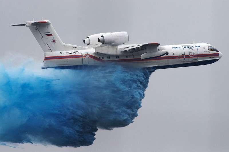 Первый серийный Бе-200 Таганрог представит в сентябре