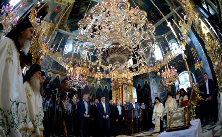 Владимир Путин посетил Святую Гору Афон
