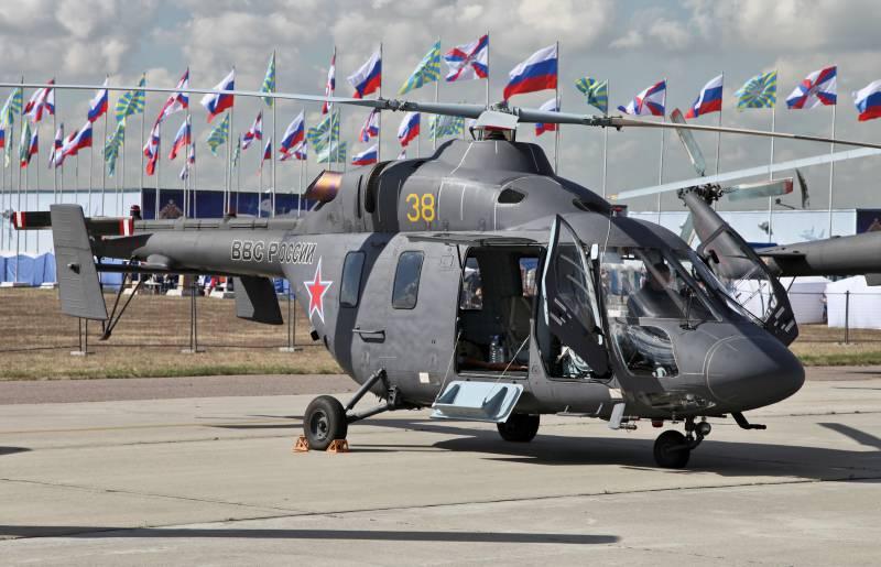«ВР»: Российским военным передано боле 30-ти вертолётов «Ансат-У»