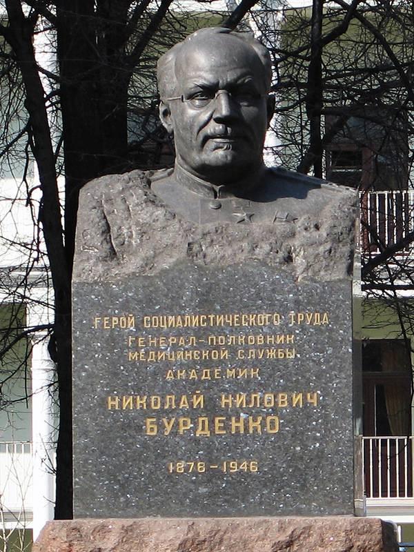 140 лет со дня рождения основоположника отечественной нейрохирургии Николая Ниловича Бурденко