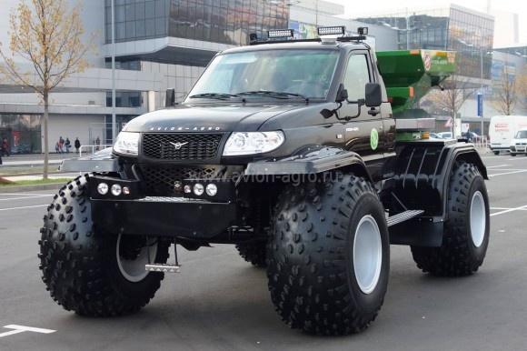Новый «АВИОН-АГРО» на базе УАЗ-Карго