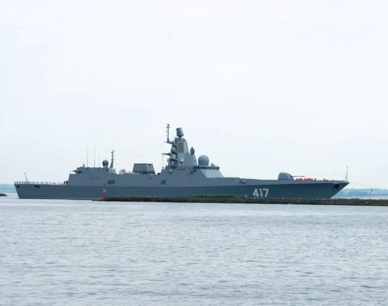Система РЭБ для кораблей проекта 22350 успешно прошла госиспытания