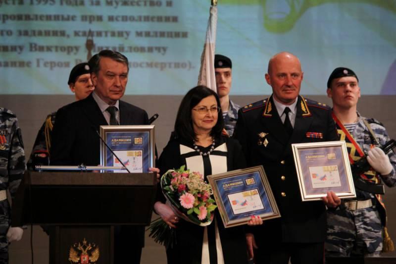 Герой России — капитан милиции Виктор Адамишин