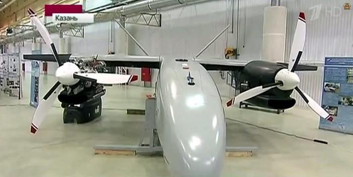 Российский беспилотник-гигант проходит испытания