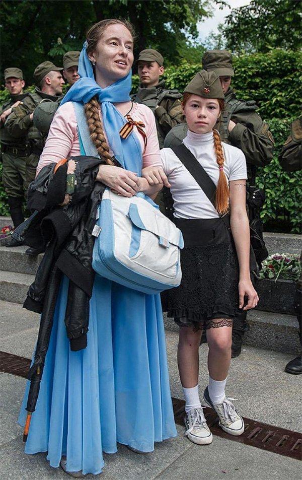 В Киеве порезали неонациста, напавшего на девочку 9 мая