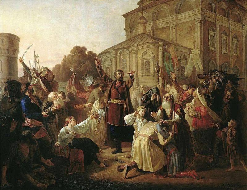 Как Минин и Пожарский создали Второе народное ополчение