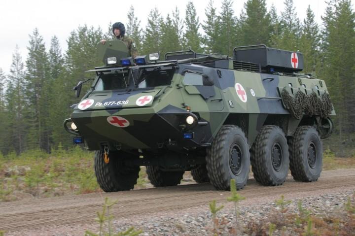 Бронированная карета скорой помощи для Минобороны РФ