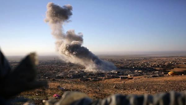 Минобороны обвинило коалицию США в ударе по траурной церемонии в Ираке