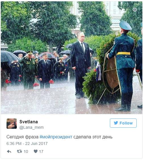 «Мой президент» - в соцсетях запустили акцию в поддержку Путина