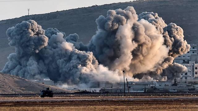 Коалиция США нанесла удар по сирийской деревне