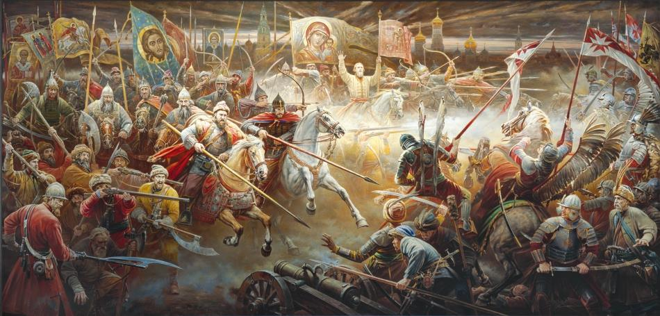 28 августа 1609 г. состоялась историческая битва русских войск и польско-литовских интервентов