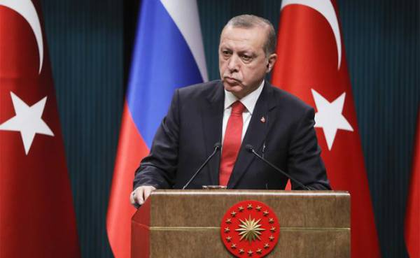 На фото: президентТурции Реджеп Тайип Эрдоган